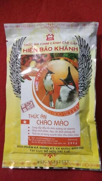 Cám Chào Mào Hiển Bảo Khánh Ổn Định (Sao) 200gr - Thức Ăn Chim Cao Cấp