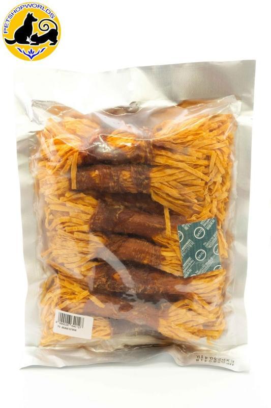 Thức ăn khô snack gà thái sợi Jerky Fish