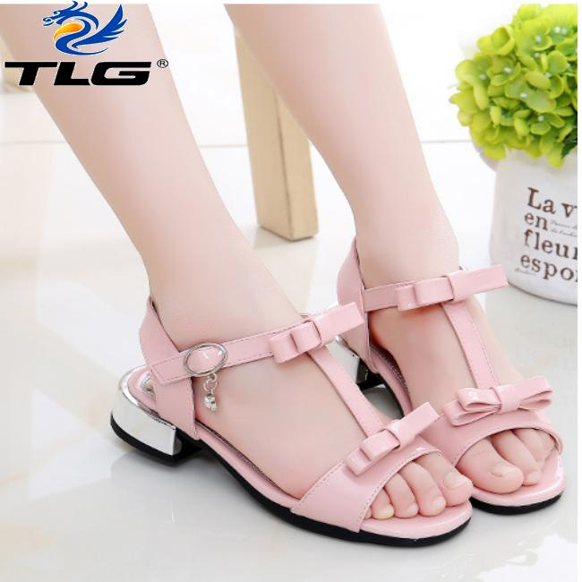 Giá bán Sandal Hàn Quốc siêu dễ thương cho bé gái Đồ Da Thành Long TLG 20703