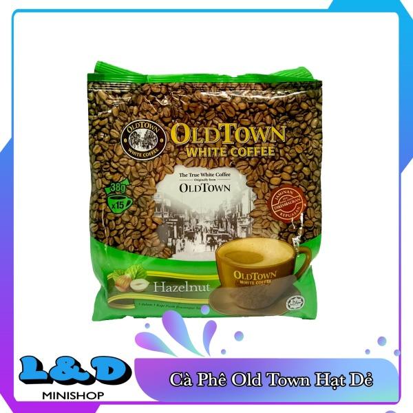 Cà phê trắng Oldtown White Coffee Hazelnut Malaysia (hạt dẻ)