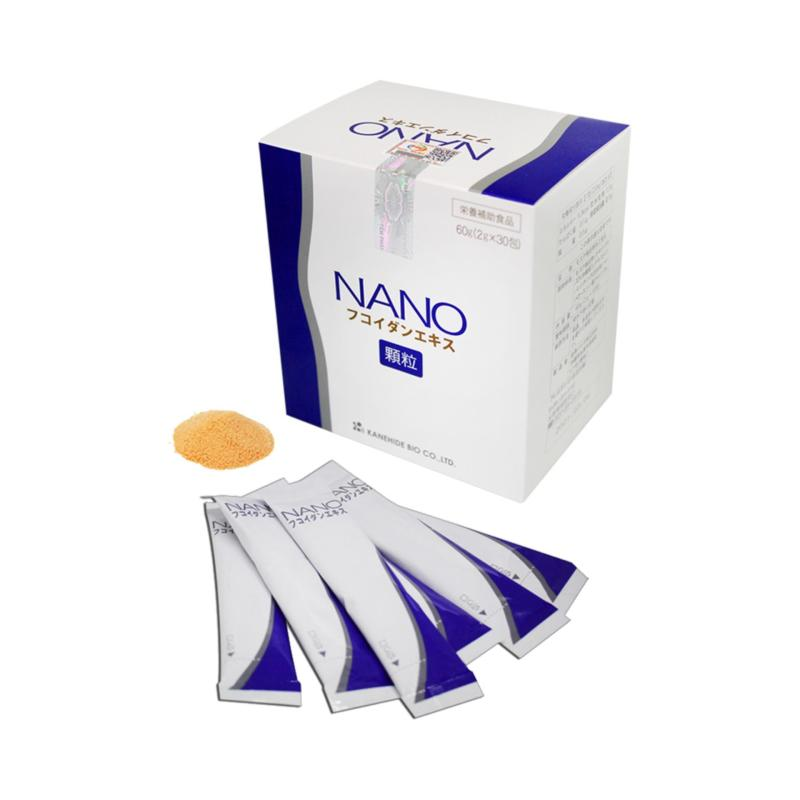 Fucoidan Nano Phòng Và Hỗ Trợ Điều Trị Ung Thư Kanehide Bio Nhật Bản 30 gói