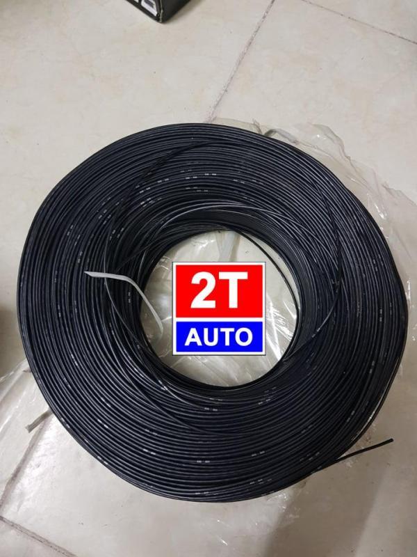 Cuộn 5m dây điện Nhật chuyên dụng cho điện xe hơi, xe máy chịu đươc nhiệt độ và độ ẩm cao- MÀU ĐEN