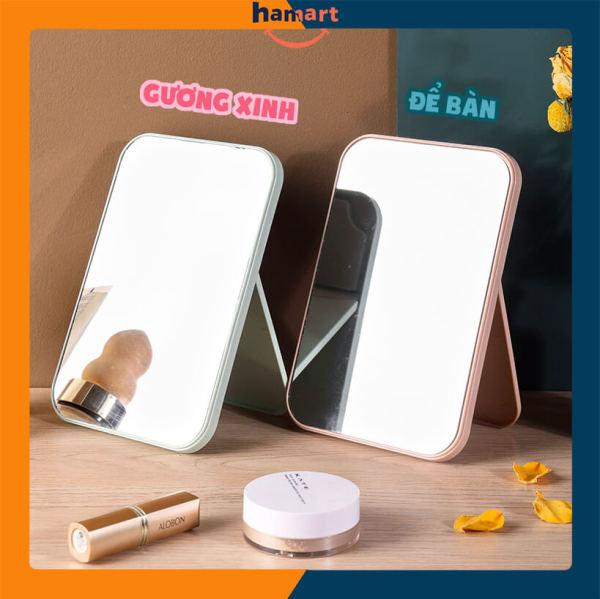 Gương Mini Để Bàn Trang Trí Nhà Cửa Gương Trang Điểm Phong Cách Hàn Quốc giá rẻ
