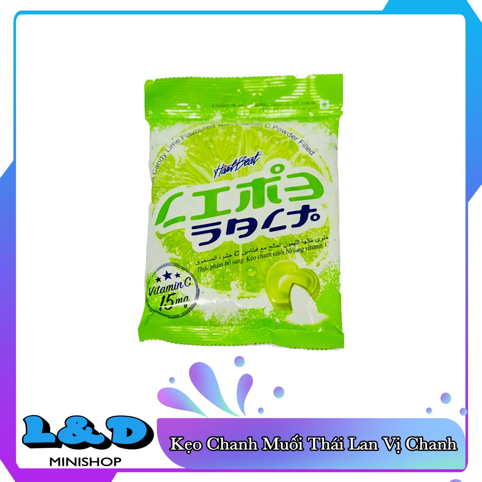 [HCM]Kẹo Chanh Muối Thái Lan 120gr Bổ Sung Vitamin