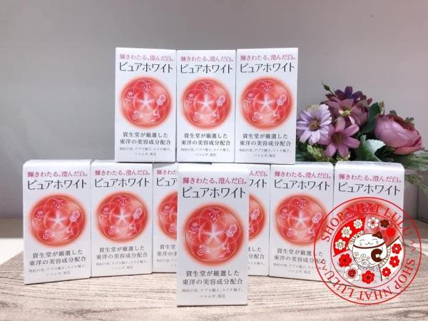 Viên uống Pure White Shiseido Nhật Bản trắng da nám tàn nhang