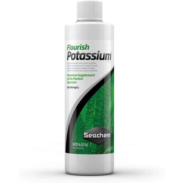 Phân Nước Bổ Sung Kali Seachem Flourish Potassium 250ml Plant Fertiliser Cho Hồ Thủy Sinh