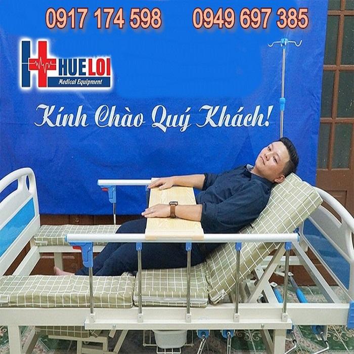 Giường y tế đa chức năng - Giường bệnh viện - Giường có bô vệ sinh - Giường đa năng