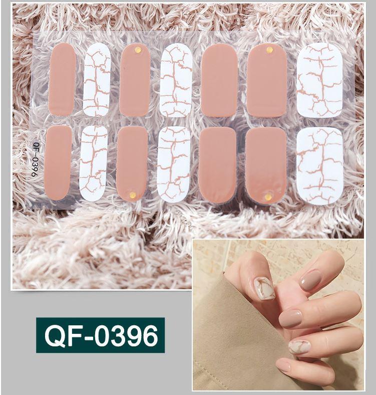 Bộ 14 miếng dán móng tay - Nail Wraps (kèm dũa) tốt nhất