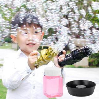 Súng máy bắn phun thổi Bong Bóng Xà Phòng ngầu 8 nòng đồ chơi ngoài trời cho bé an toàn không lo bẩn tay mới nhất HOT 2021 Dũng Dũng 1 3