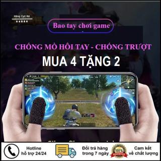 [SIÊU GIẢM GIÁ] Bao tay chơi game, Găng tay chơi FF, PUBG, Liên quân Mobile chuyên nghiệp, chống ra mồ hôi tay, tăng độ nhạy Shop Hàng Cực Rẻ thumbnail