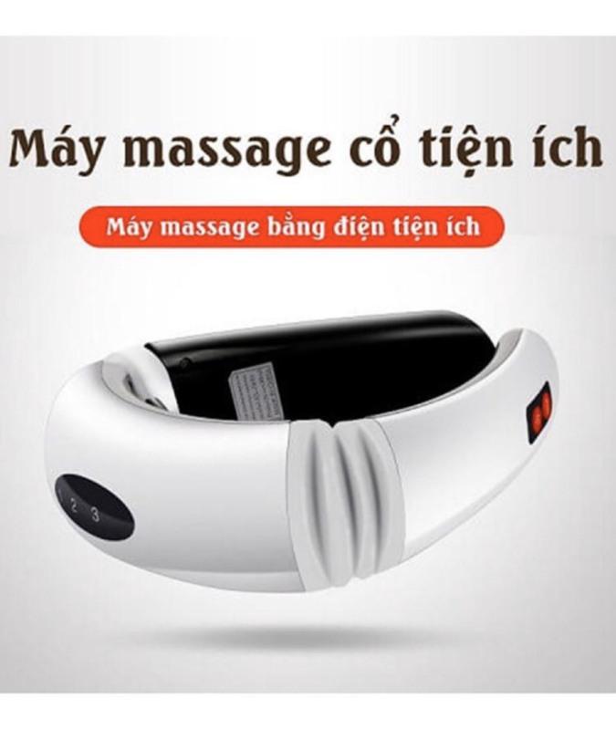 Máy massage cổ vai gáy xung điện 3D cao cấp