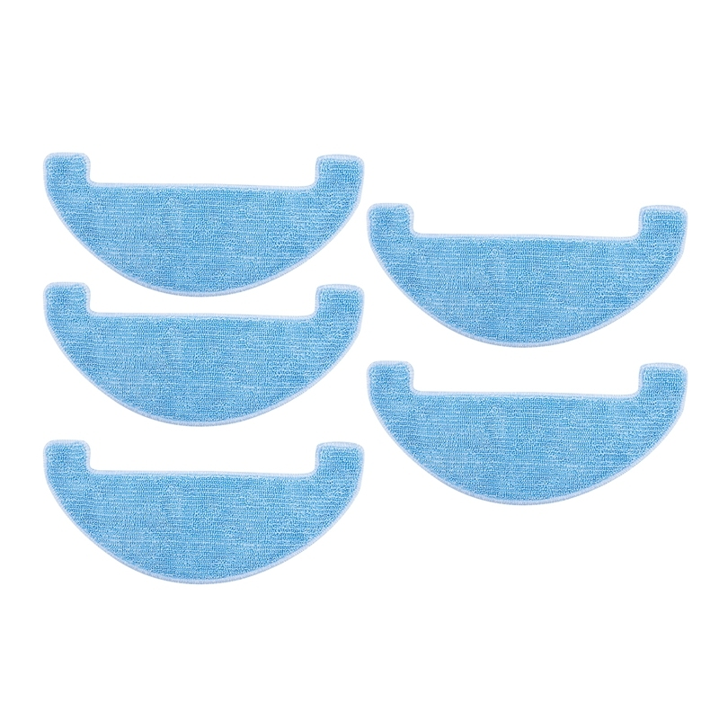 5Pcs Replacement Cleaning Pad Clean Mop For Ilife V80,V8S,X800,X750,X787,X785 Robotic Vacuum Cleaner Parts Accessories