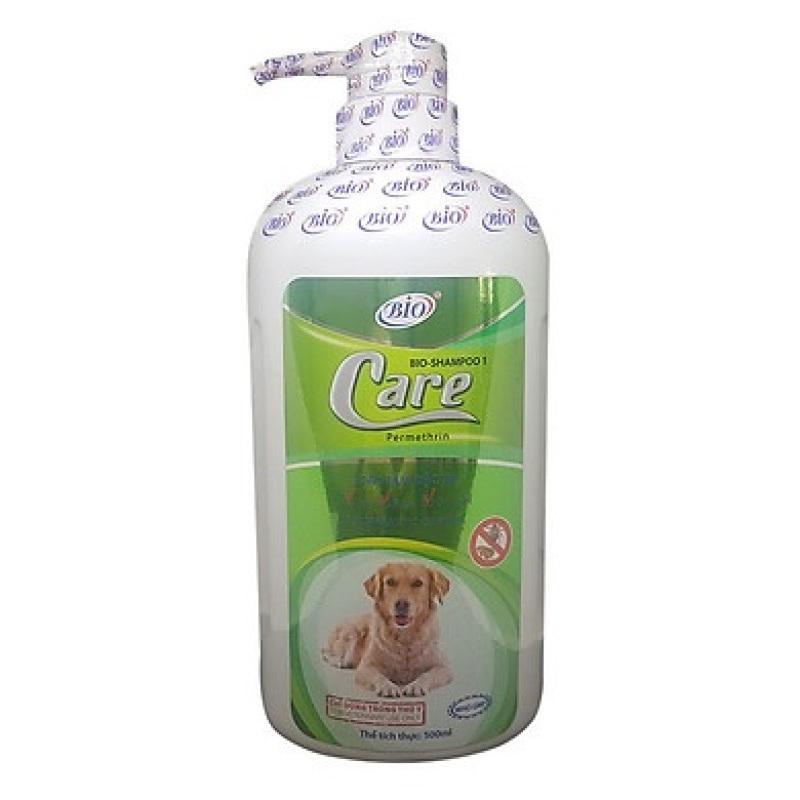 Sữa tắm đặc trị ve rận bọ chét cho chó mèo - Bio Care 500ml