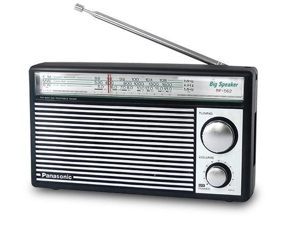 Offer Khuyến Mại Radio Panasonic RF-562DD