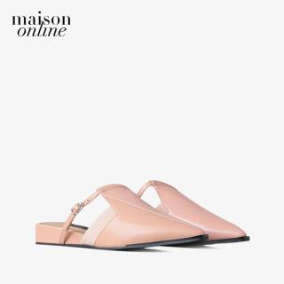 PEDRO - Giày đế bệt nữ mũi nhọn hở gót thời trang PW1-66220007-20 thumbnail