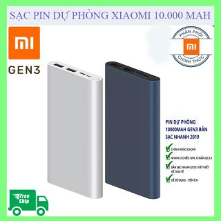 [SẠC DỰ PHÒNG XIAOMI 18W]Pin sạc dự phòng Polymer 10.000mAh Xiaomi Mi 18W Fast Charge Power Bank 3. Bảo Hành 3 Tháng, Lỗi 1 đổi 1 trong 7 ngày thumbnail