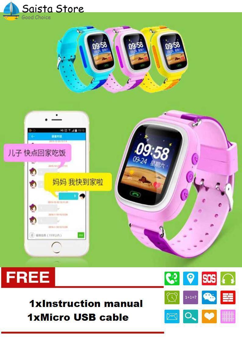 Nơi bán Saista Store Trẻ Em Thông Minh GPS Đồng Hồ 400 mAh Điện Thoại Gọi Đo Sức Đi Bộ Danh Bạ Cho Android IOS Điện Thoại (Mua 2 sẽ hơn rẻ hơn)