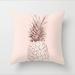 Đệm hương hoa hồng vỏ gối ngắn màu hồng lông đào phong cách bắc âu, vỏ gối sofa hình học trang trí - hình 3