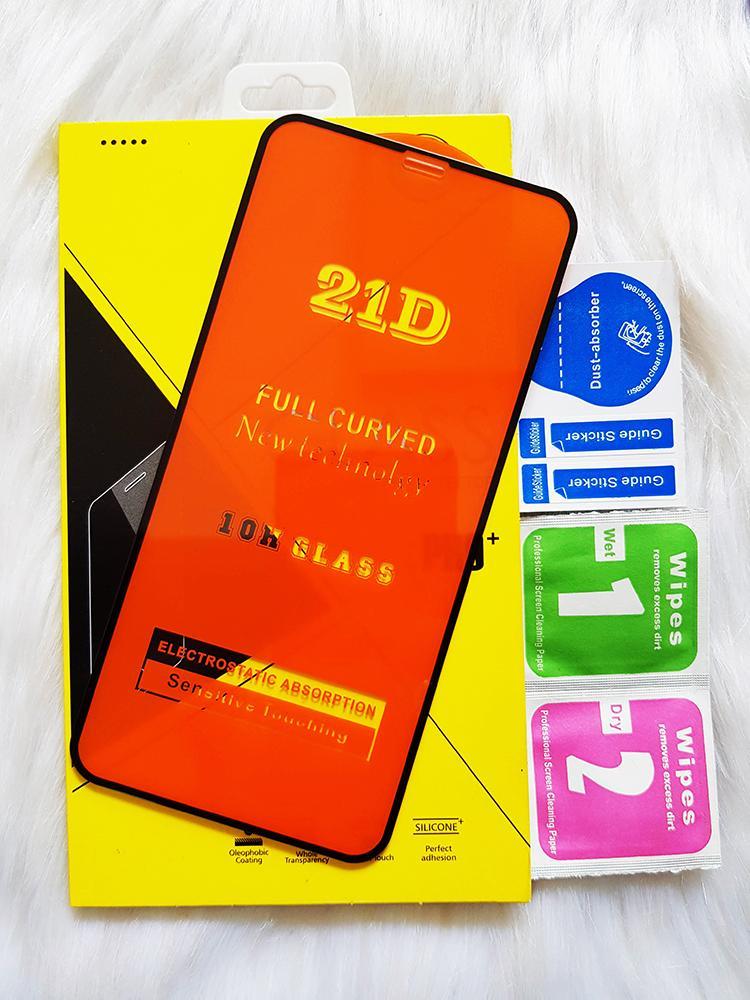 Giá (ĐỦ DÒNG) Kính Cường Lực 21D IPHONE Full Keo Màn Hình SIÊU BỀN, SIÊU CỨNG, ÔM SÁT MÁY