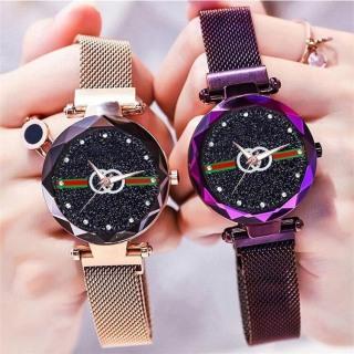 Đồng hồ thời trang nữ Huans day lưới nam châm phong cách hàn MS0374 thumbnail