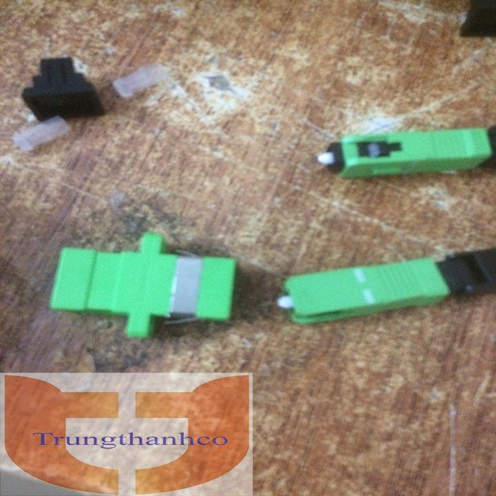 Giá 10 Đầu nối dây quang - Coupler SC-APC - Adapter quang SC-APC to SC-APC
