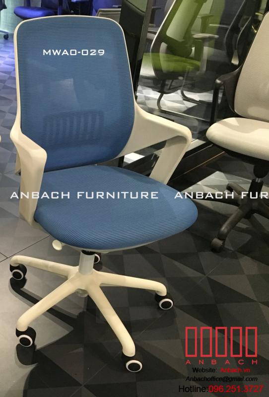 Ghế văn phòng/ ghế giám đốc bọc vải, lưới cao cấp, chân xoay 360 độ, mã sản phẩm FWA0-028, FWA0-029 giá rẻ