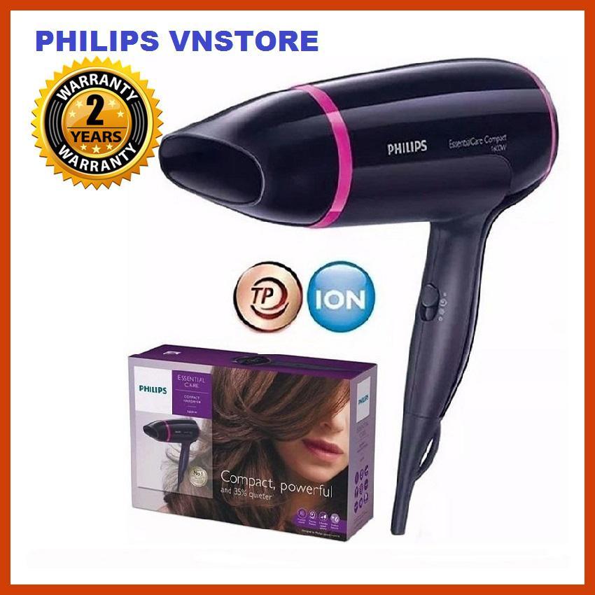 Máy Sấy Tóc Philips BHD002 (1600W ), sấy khô tóc mạnh mẽ và chăm sóc tóc