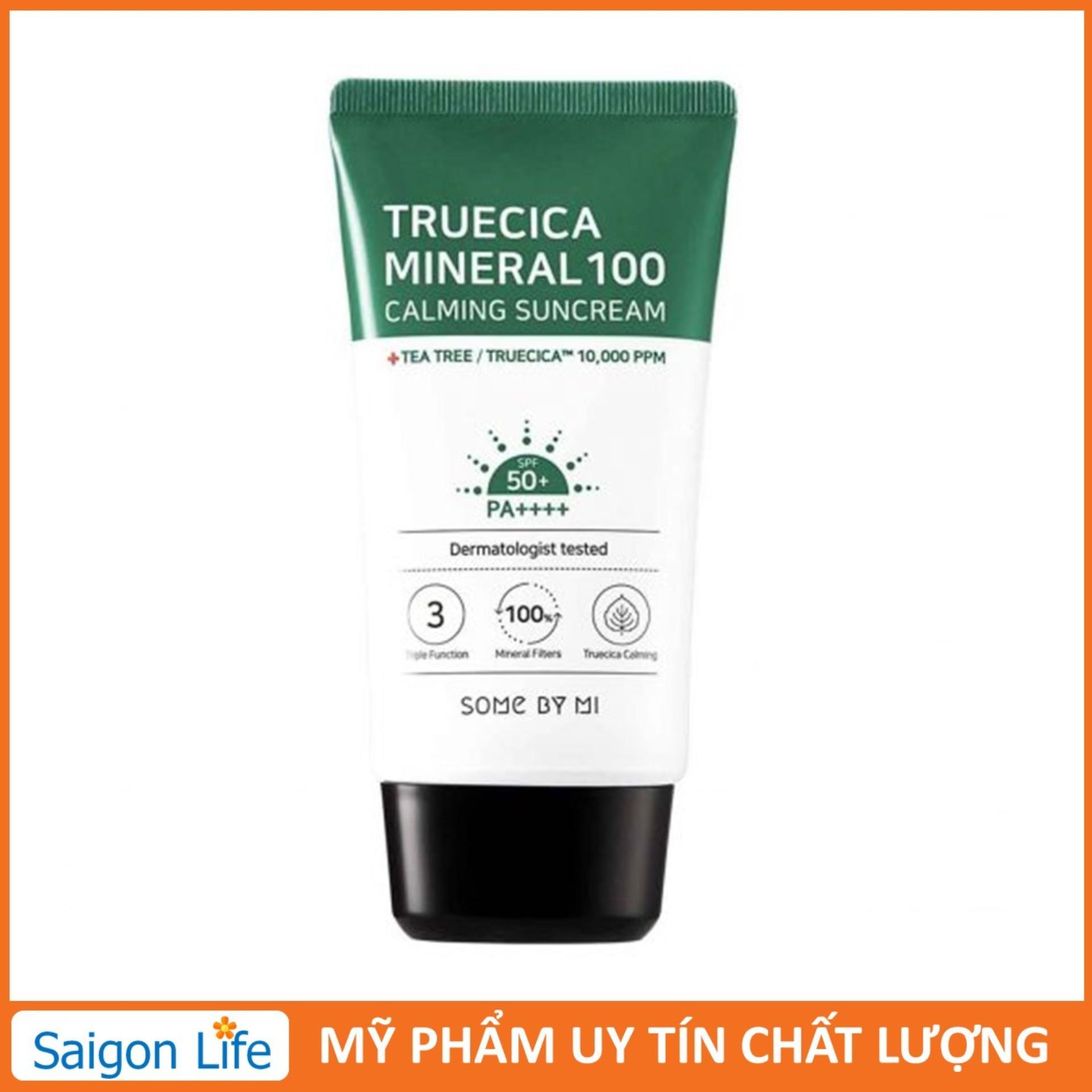 Kem Chống Nắng Some By Mi Truecica Mineral 100 Calming Suncream SPF50+/PA++++ 50ml tốt nhất