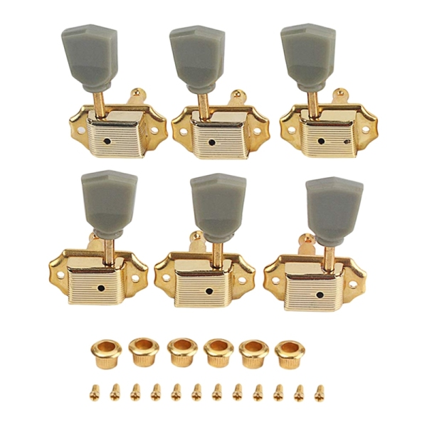 3R3L Vantage Style Electric Guitar Tuning Peg Gold Color Guitar Machine Head Tuning For Gibcon Replacement Parts