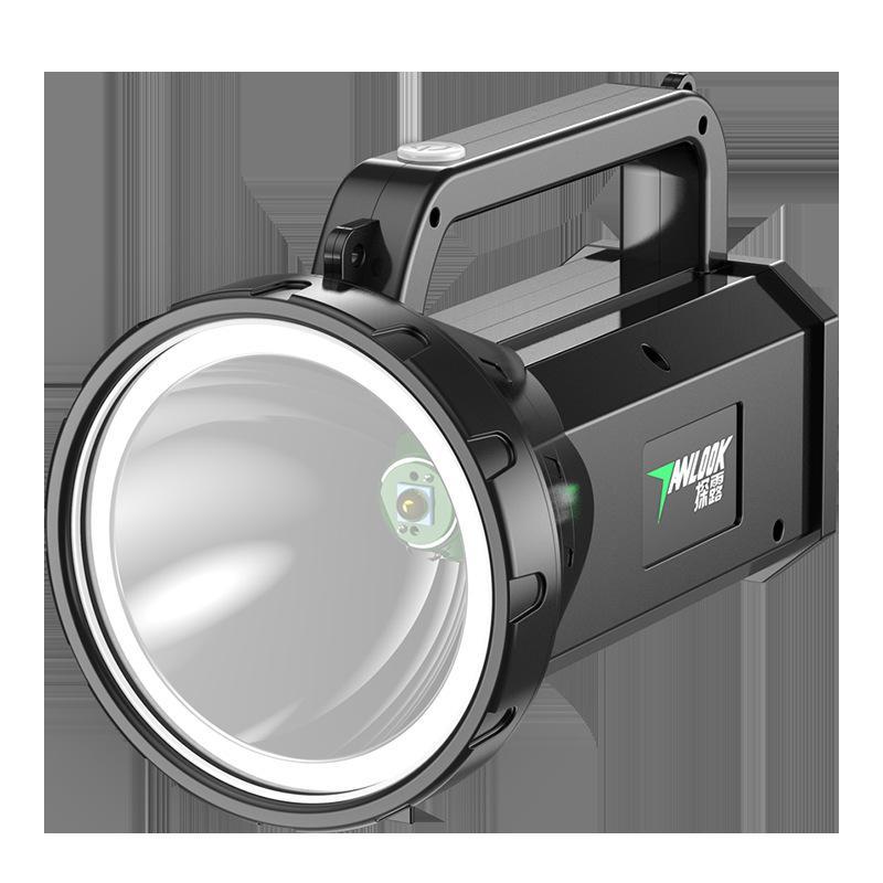 Đèn Pin Siêu Sáng, đèn Pin Chiếu Xa- Siêu Sáng đa Chức Năng Tầm Nhìn Xa 100m Không Thấm Nước.Đèn Chiếu Xa Anlook -ST03-L2 Có đầu Sạc Duy Nhất Khuyến Mại Hôm Nay