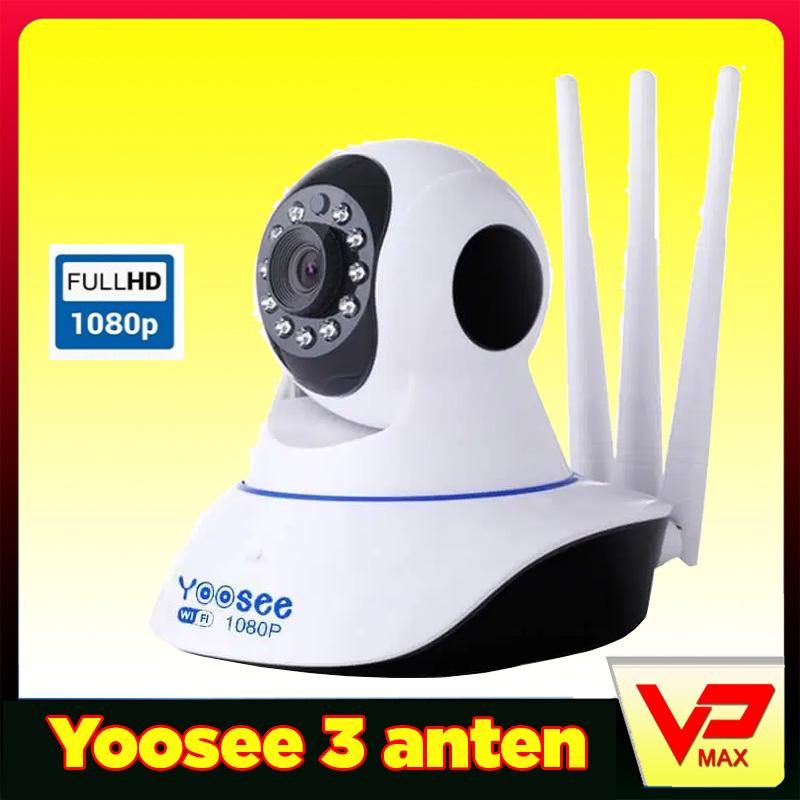 Camera IP wifi Yoosee 3 anten 2.0 chuẩn HD+ 1080p - vpmax