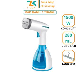 Máy ủi hơi nước cầm tay TiLoKi MW801 bàn ủi hơi nước 14 lỗ công suất 1500w dung tích 280ml - Bàn là hơi nước cầm tay thông minh công suất 1500w - Bàn là hơi nước cầm và khóa tay thumbnail