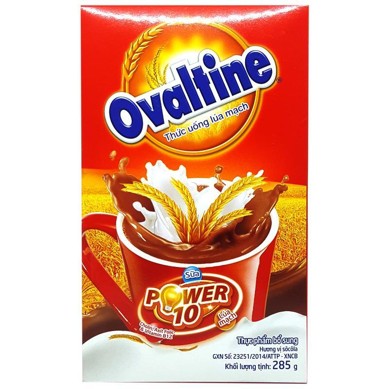 Bột uống lúa mạch Ovaltine hộp 285g