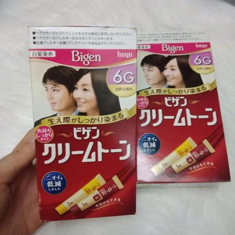 Bigen 6G nhuộm tóc nội địa Nhật nhập khẩu