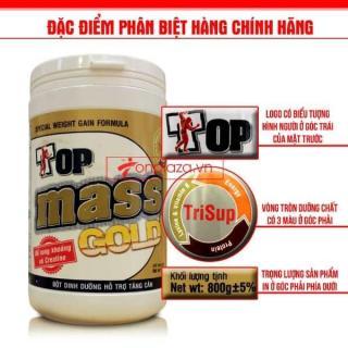 Sữa tăng cân Top mass gold hương socola (Hàng chính hãng) thumbnail