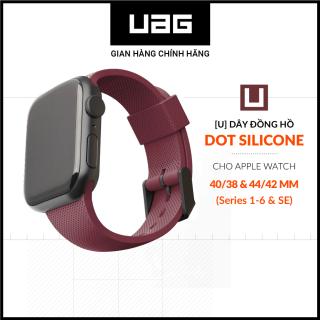 [U] Dây đồng hồ UAG Dot Silicone cho Apple Watch 40 38mm thumbnail