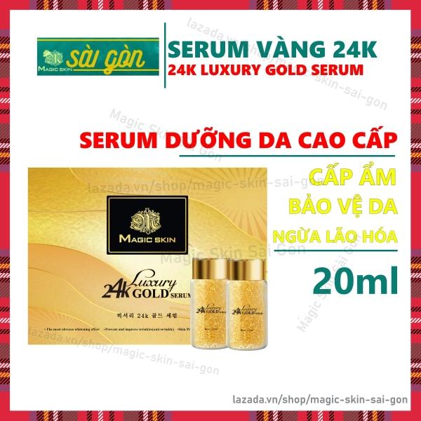 Serum VÀNG 24K Dưỡng Da Luxury 24K Gold Serum [CHÍNH HÃNG] MagicSkin cao cấp