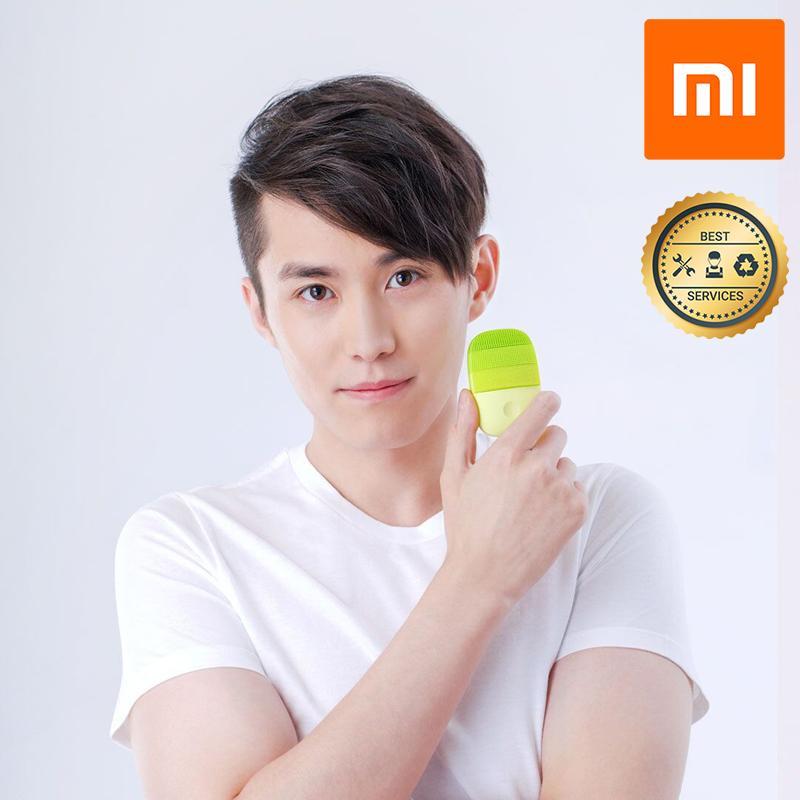Máy rửa mặt sóng âm Xiaomi (Xanh lá) YP3008054 chính hãng