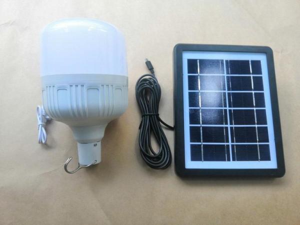 Bộ đèn led Trụ năng lượng mặt trời 24w sáng thắng