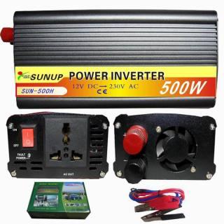 Máy kích điện Sunup 12v 500W thumbnail
