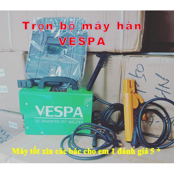 Máy hàn điện tử Vespa 250a  may han que giá rẻ