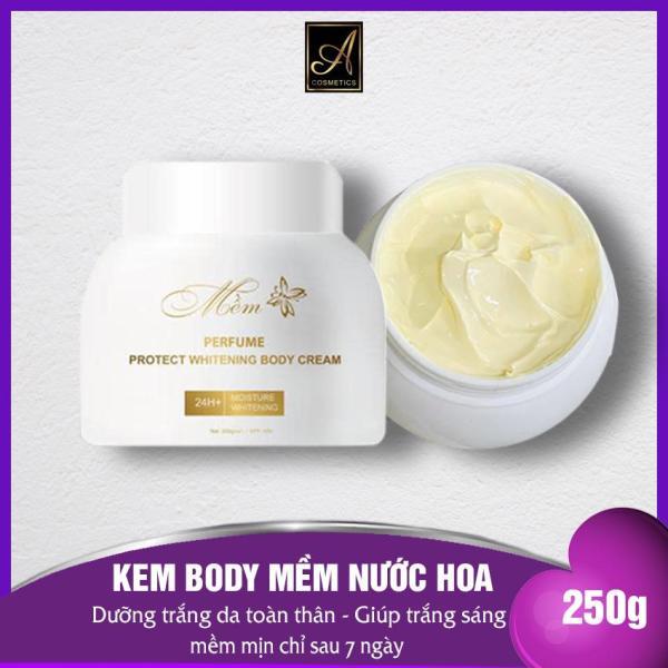 Kem BODY MỀM Nước Hoa 2020 - A Cosmetics Dưỡng Ẩm Trắng da làm Mờ Thâm Sẹo Phục hồi Tái Tạo Da - 250G nhập khẩu