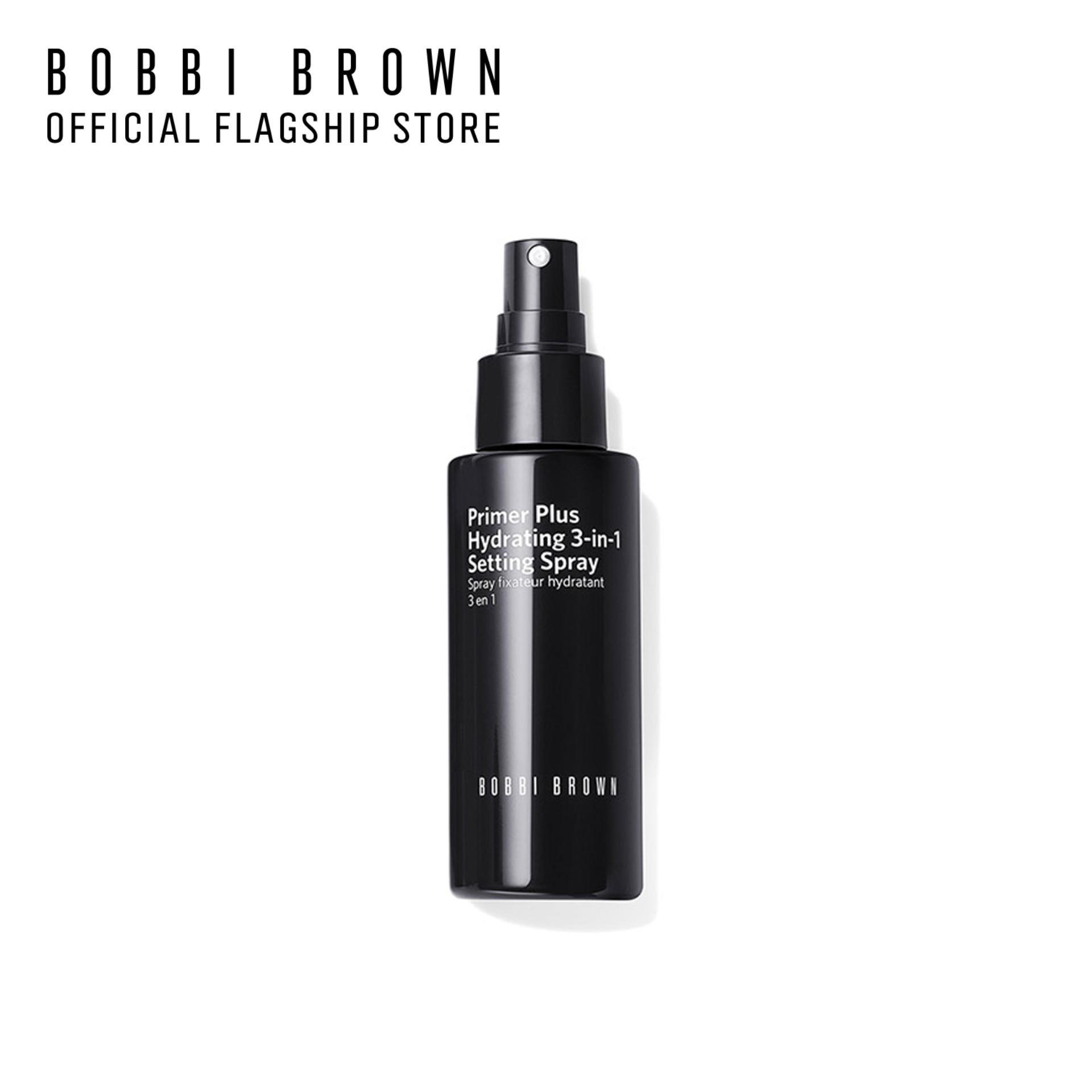 Xịt khoáng cấp ẩm và hoàn tất lớp trang điểm Bobbi Brown Primer Plus Hydrating Spray 100ml
