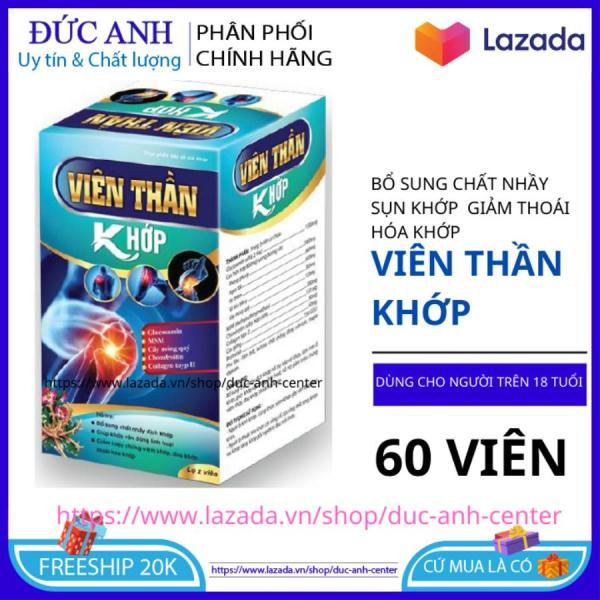 Viên thần khớp Glucosamin giảm đau xương khớp tăng chất  nhầy xương khớp hộp 60 viên - HSD 2023 - Đức Anh Center giá rẻ