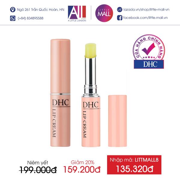 Son dưỡng môi DHC Lip Cream 1,5g (Nhập khẩu)