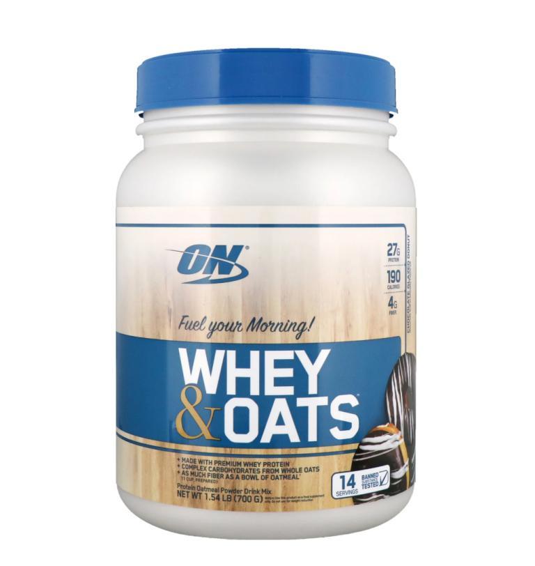 Thực phẩm bổ sung Optimum Nutrition Whey & Oats 1.54lb Vanilla HSD 04/2020