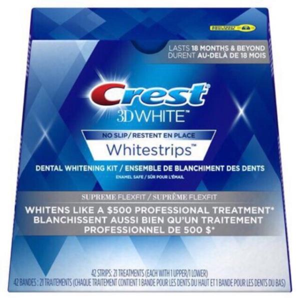 Combo 5 miếng dán trắng răng Crest White USA, cam kết sản phẩm đúng mô tả, chất lượng đảm bảo giá rẻ