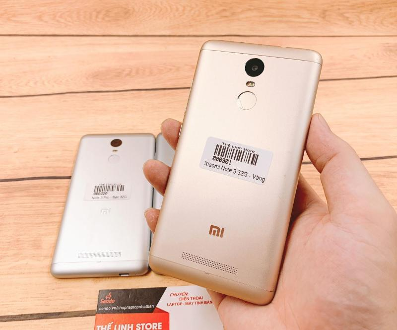 Điện thoại Xiaomi Redmi Note 3 16G/32G - Màn 5.5 inch