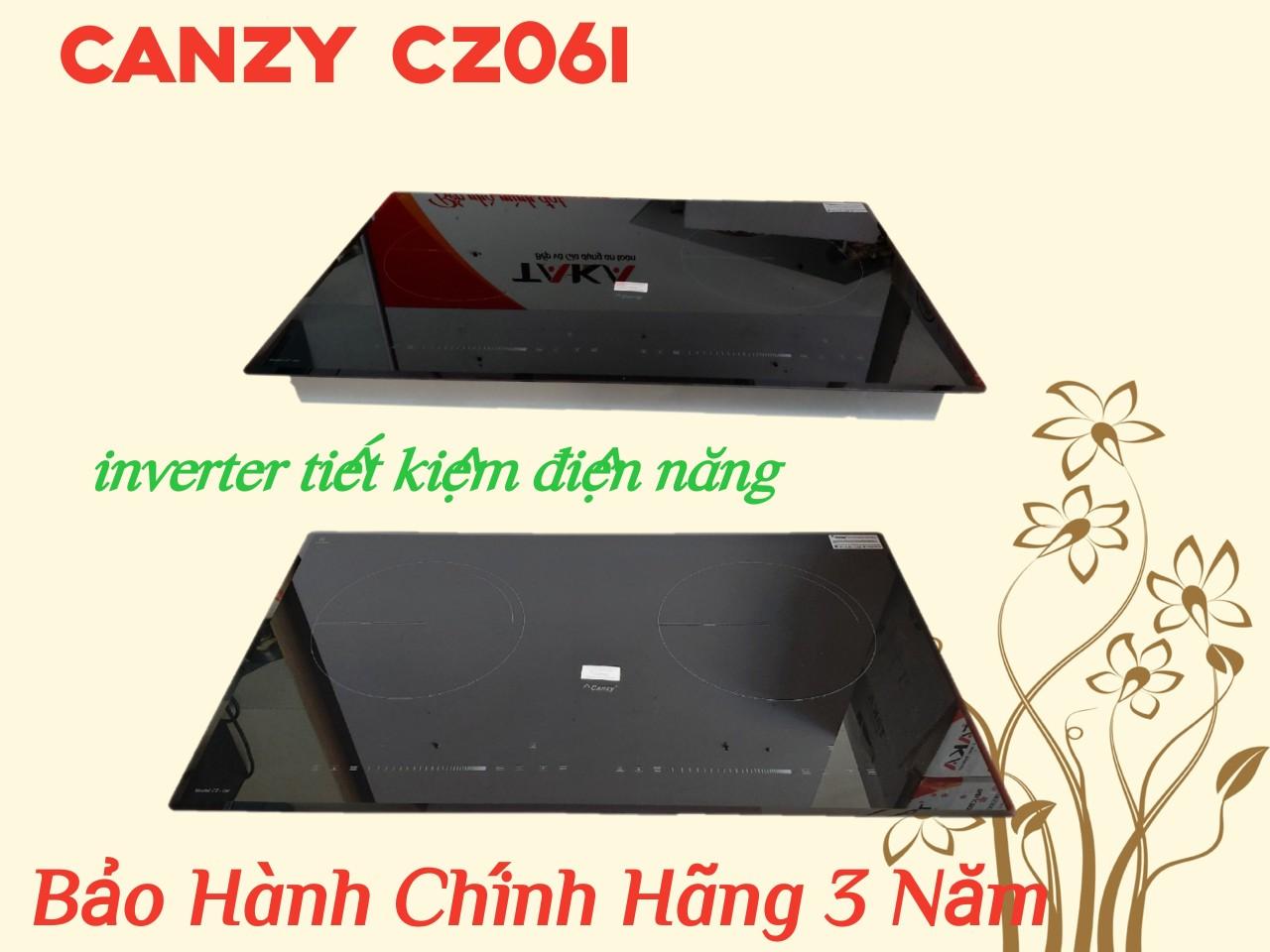 Bếp Từ Đôi Cao Cấp inverter CANZY CZ06I