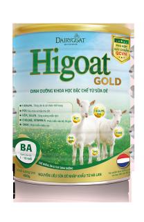 Sữa Dê HIGOAT GOLD BA 400g 1-10 tuổi thumbnail